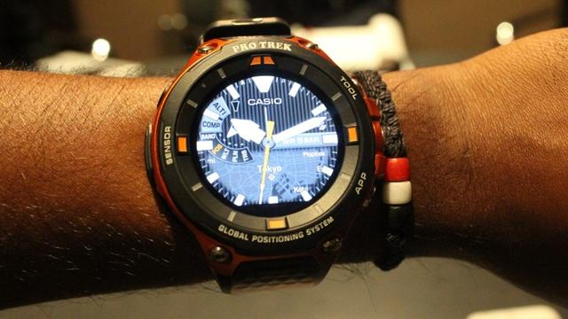 卡西欧户外智能手表上手 不考虑续航的话很完美