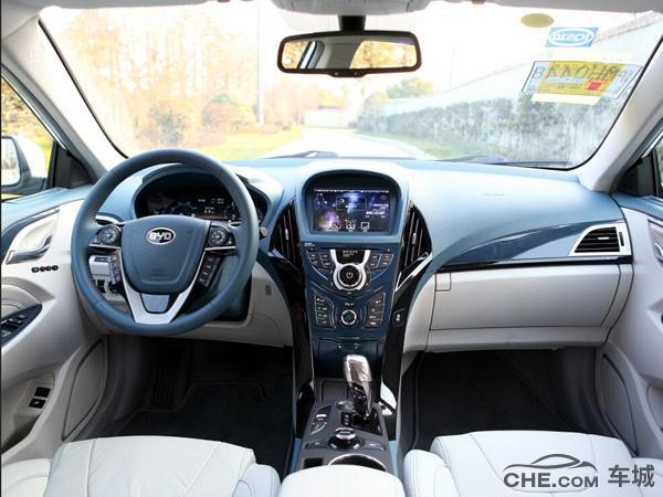 比亚迪秦评测 自主品牌混合动力的紧凑型车