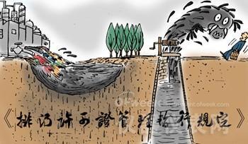 排污许可首个规范性文件发布 环境监测仪器将受益