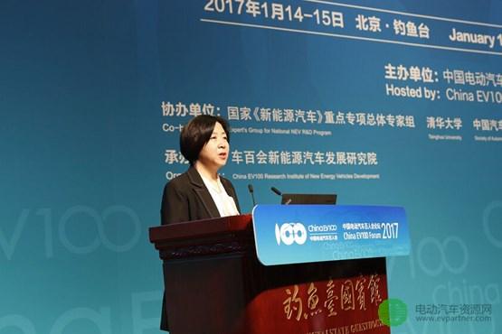 宋秋玲:新能源汽车补贴政策不干涉技术路线 支持期限和力度不变