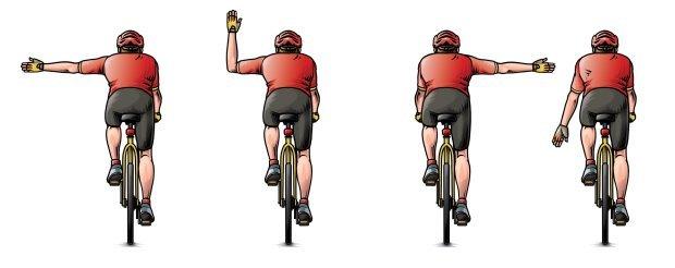 转弯挥挥手 这款安全提示手镯能保障你的骑行安全
