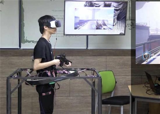 高手在民间!韩国大学生自主开发VR版《守望先锋》