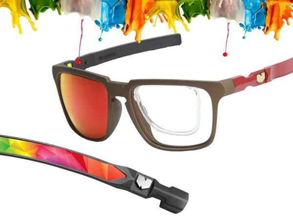 """眼镜也玩模块化 一副眼镜搭配出N种""""范儿"""""""