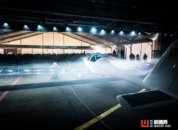 冲击太空边缘的太阳能飞机在瑞士亮相