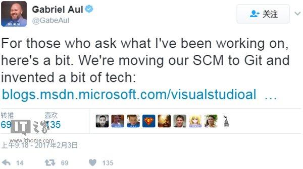 开发者福利!微软宣布Git虚拟文件系统GVFS开源