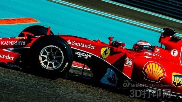 配有3D打印发动机活塞的法拉利F1赛车即将亮相
