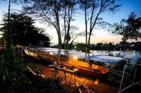 汉能全太阳能动力船助力亚马逊河流域发展