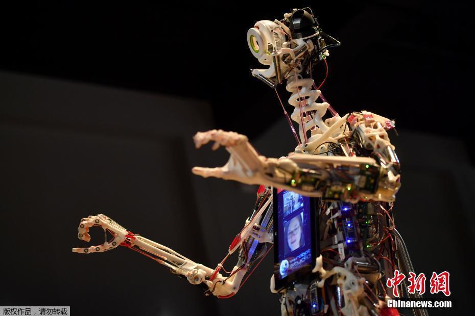 """英国举办机器人展览 各路机器人""""集结"""" """"终结者""""现身"""