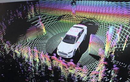 福特自动驾驶汽车加载新型激光雷达传感器