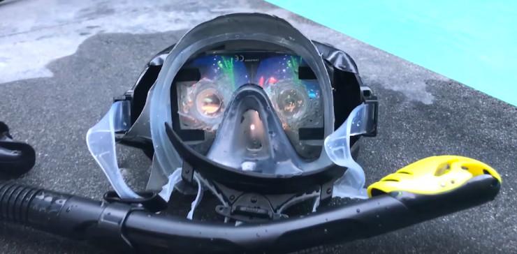 水下VR头盔:有创意且体验不错