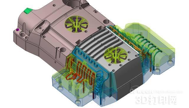 3D打印让模具产量提高了40%!