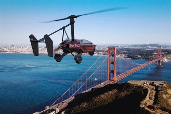 世界首款量产型飞行汽车是个三轮车:最高航速180千米/小时