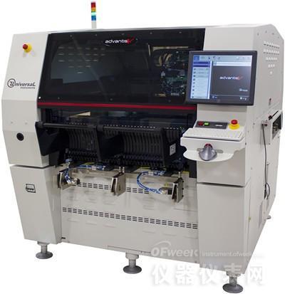 环球仪器将于美国APEX展演示下一代中端贴片机