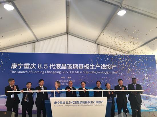 康宁在中国开设第二家LCD玻璃基板工厂