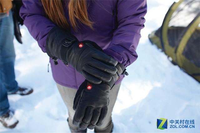 够矫情!国外推出自动加热手套