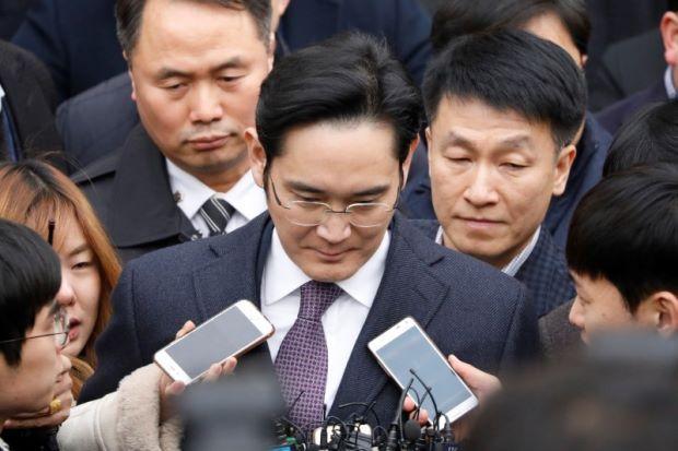李在镕被批捕 三星这三名高管受关注