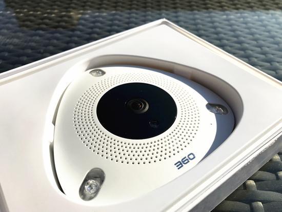 360看店宝摄像机评测:人形判定让小偷无处遁形