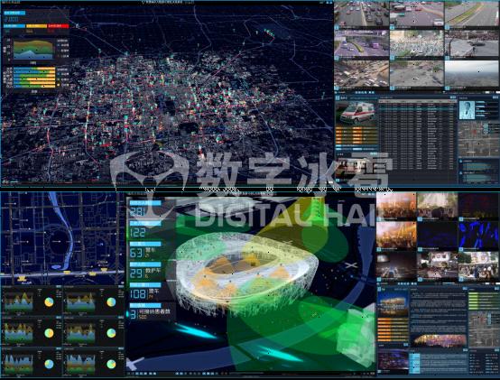 智慧城市综合管控平台,让一切数据可感可知