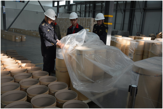 """青海新能源产业锂电材料首次走出国门""""/"""