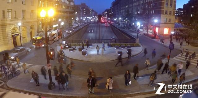 新颖的智能照明:行人走路能发电