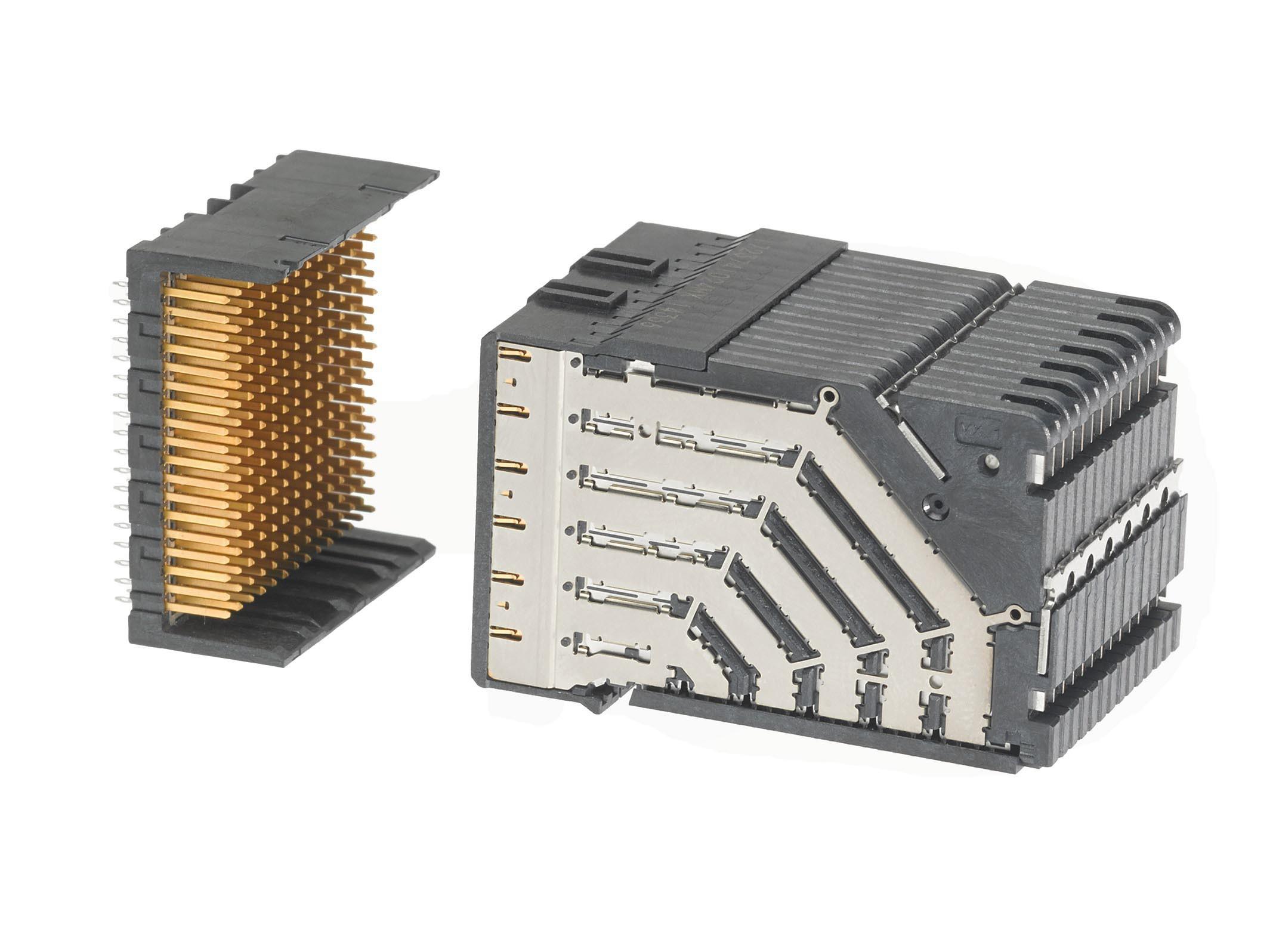 Molex推出的Impact zX2背板连接器系统满足高速应用需求