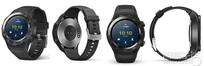华为手表2代Huawei Watch 2真机图曝光 运动风可插SIM卡