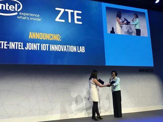 中兴通讯与Intel签订IoT 创新实验室合作协议