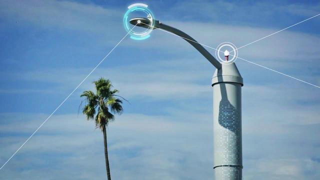 物联网时代下的智能路灯,不仅可以疏散交通还可以定位枪声