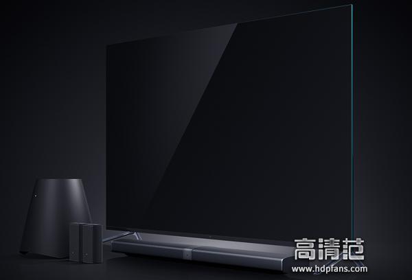 其次是小米电视4 65英寸也号称是无边框电视,去繁就简,延伸视觉效果.