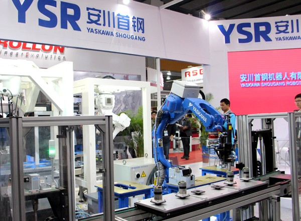 广州国际自动化展开幕 演绎工业4.0科技盛宴