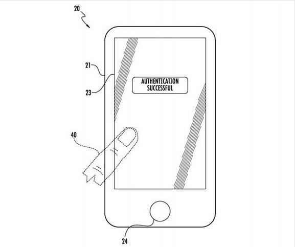 Home键出局!苹果手机屏就能指纹识别