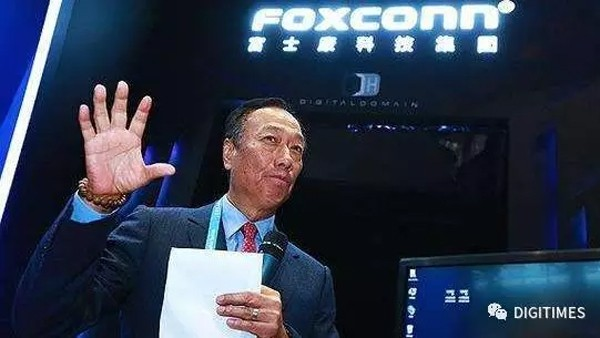 富士康加速中国物联网布局