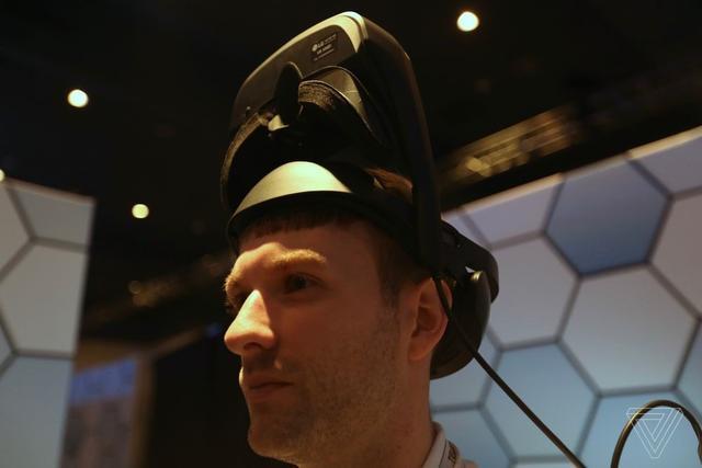 LG虚拟现实原型机体验 基本上与Vive相同