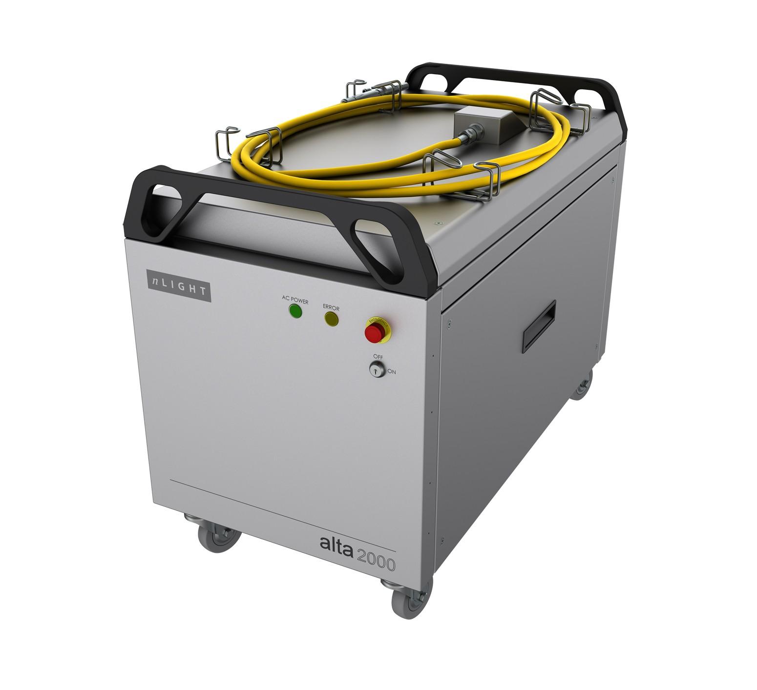 恩耐激光正式发布全新产品:Compact高功率光纤激光器