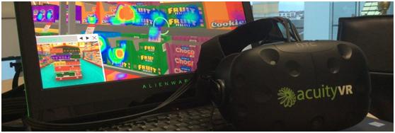 Acuity VR,一个新的VR营销分析工具