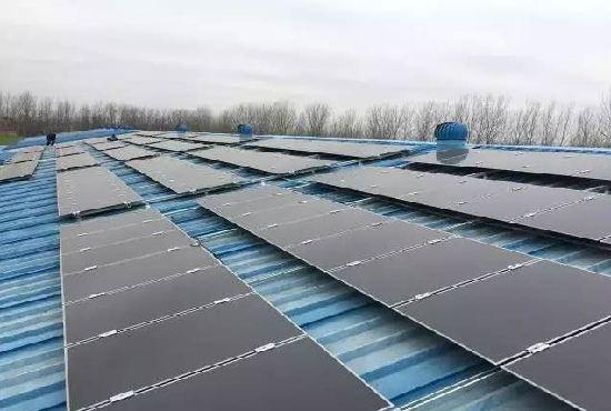 河南夏邑工厂用上汉能薄膜发电,工商业建筑屋顶光伏被看好