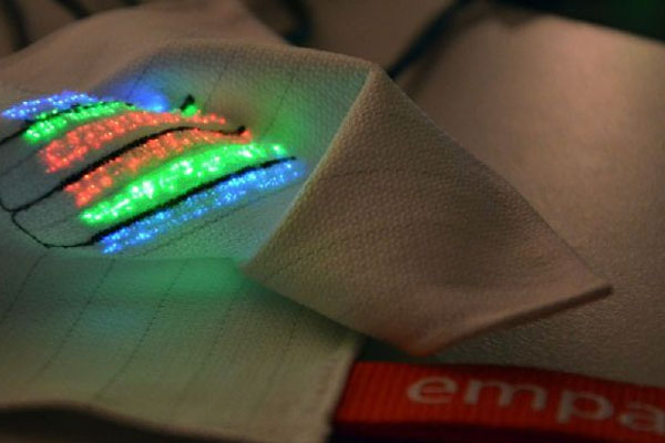 新型可穿戴设备已可植入全纺织传感器