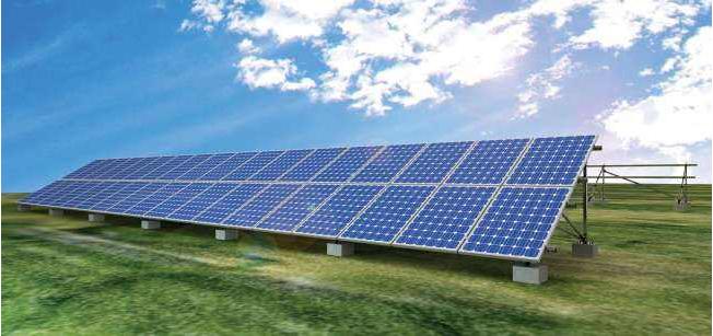 古田一路建光伏发电新能源项目示范基地