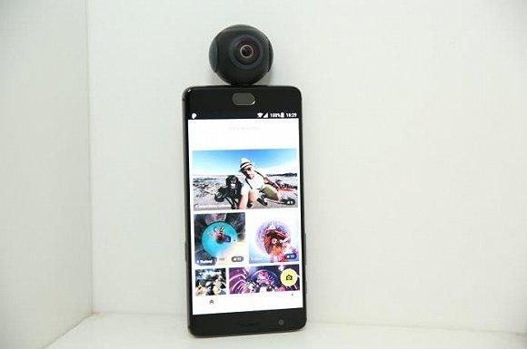 它能让你的安卓手机拍出360度全景照片