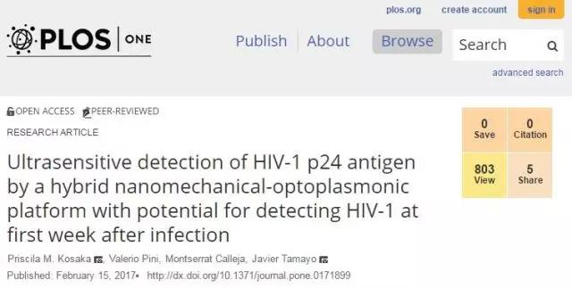 新型芯片检测早期HIV只需4小时45分钟