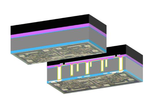 一种可防止厂商反向窃取芯片设计信息的封装方式