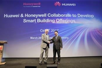 霍尼韦尔携手华为 共谋智慧城市项目