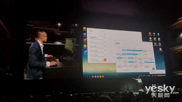 Samsung DeX扩展底座发布:S8手机秒变电脑