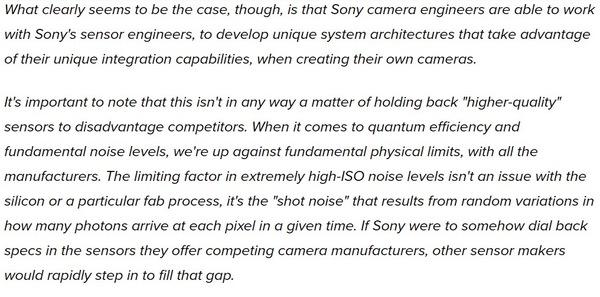 """""""外卖""""政策有变,索尼的旗舰传感器到底卖不卖"""