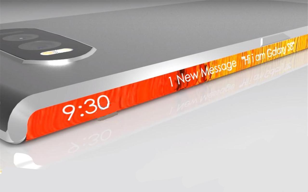 三星S9概念图:后置双摄+双扬声器,双曲面屏功能发挥极致