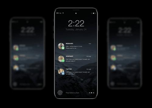 iPhone 8不只有OLED屏幕 还配备了3D传感摄像头