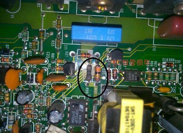电路板故障主要还是集中在元器件上面