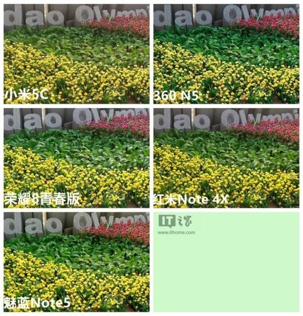 千元拍照乱斗 荣耀8青春版/小米5c/360N5/红米Note4X/魅族Note5对比评测