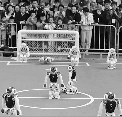 机器人世界杯中国赛开幕