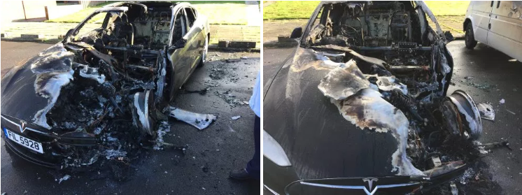 那些原因不明的特斯拉Model S起火事故